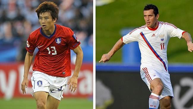 South Korea Vs Russia