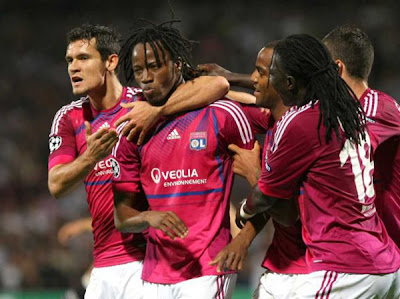 Olympique Lyon 2 - 0 Dinamo Zagreb (2)