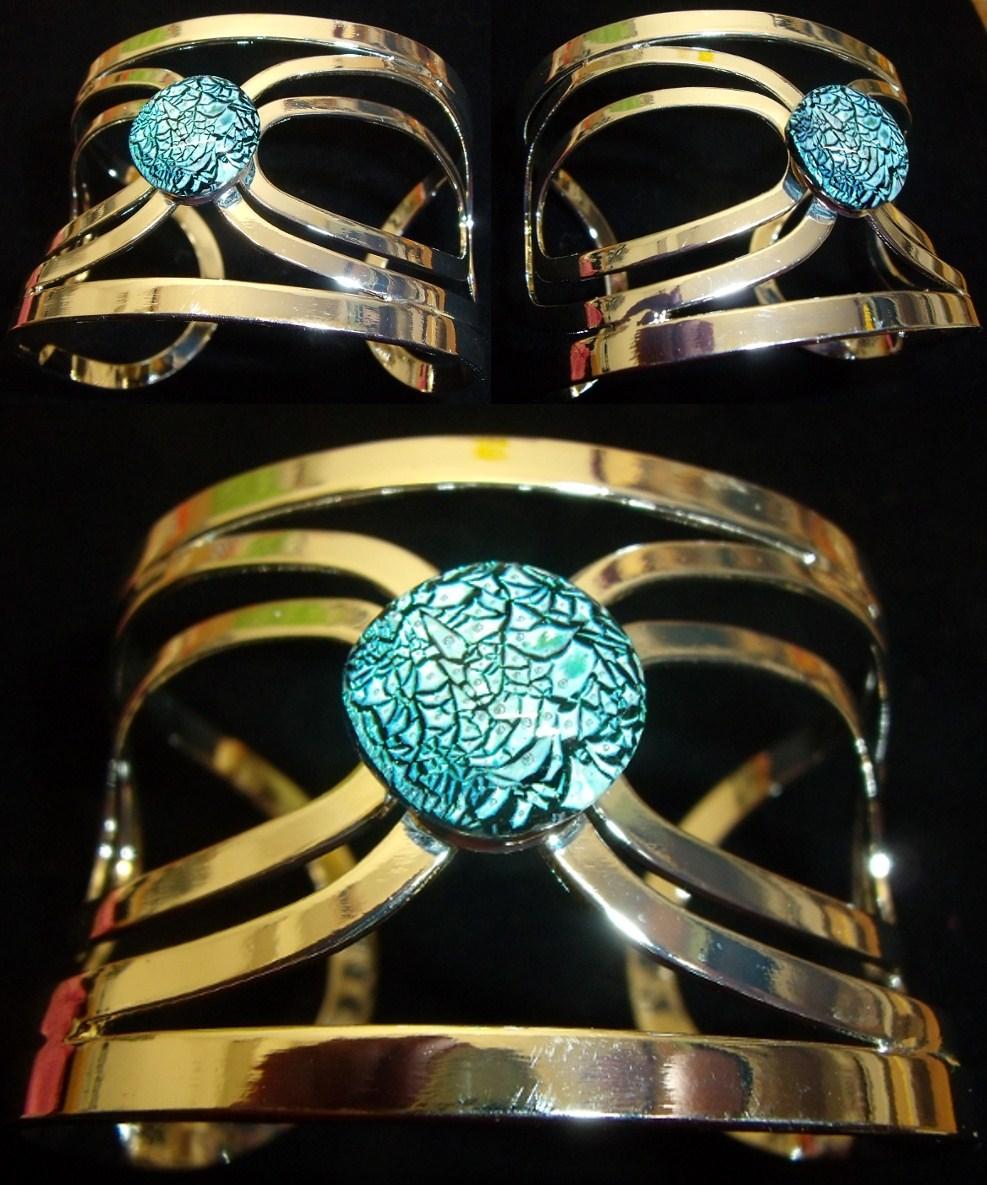 Dichroic Glass Bracelet Uk