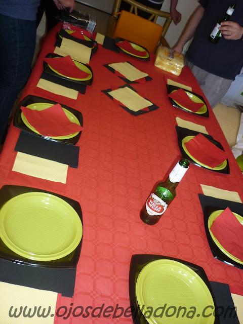 Decoración de la mesa, Bélgica