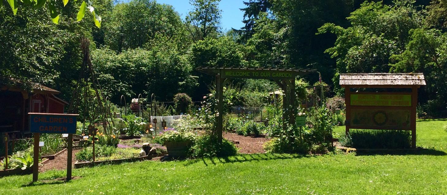 Anna Smith Children Park WSU Learning Garden