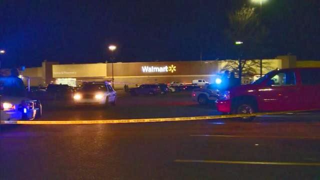 Man Shot At North Carolina Walmart