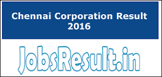 Chennai Corporation Result 2016