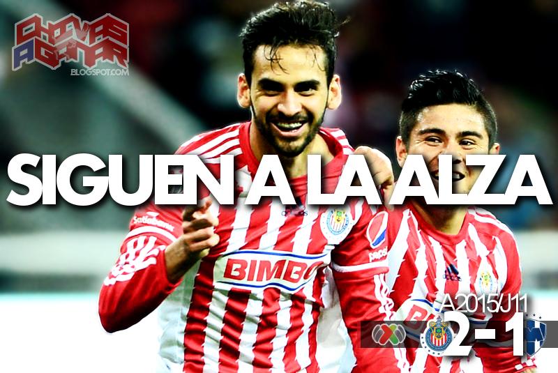 CD Guadalajara 2-1 CF Monterrey - Liga MX - Jornada 11 - Apertura 2015.