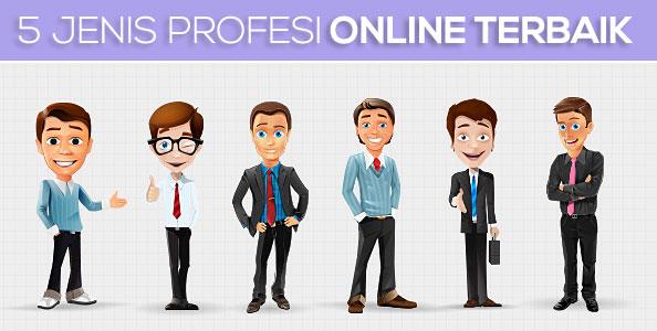 Jenis Profesi Online Terbaik Dengan Gaji Tinggi