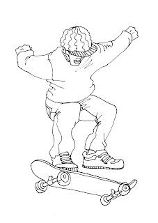 Dibujos de Skate
