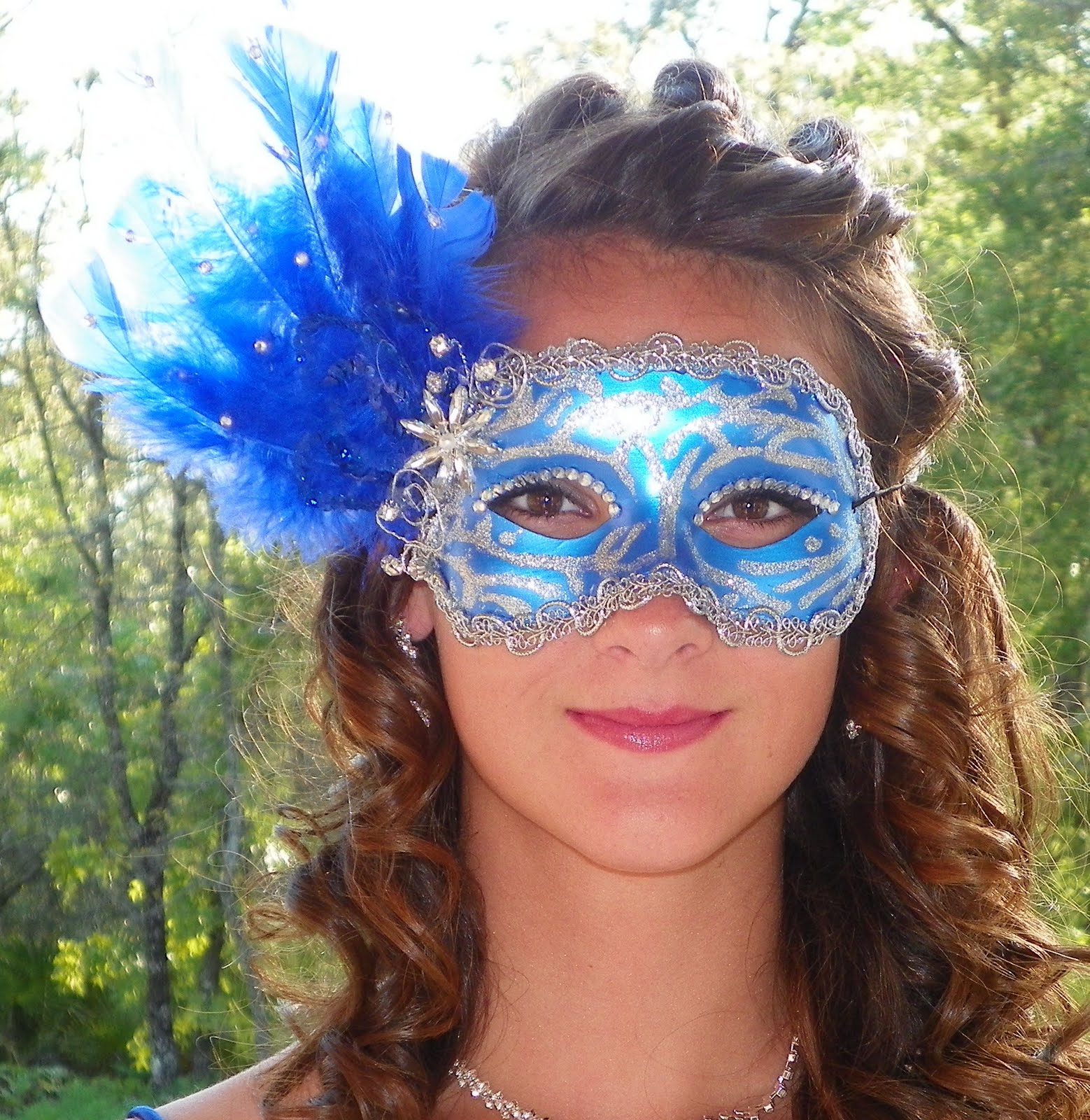 Masquerade Masks Hairstyles Pictures