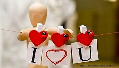 Court sms d'amour je t'aime
