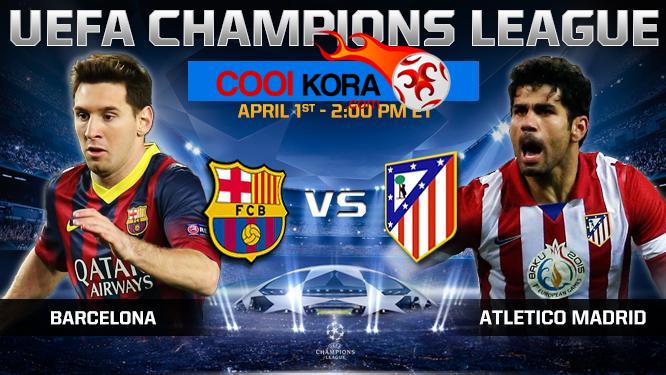 مشاهدة مباراة برشلونة وأتلتيكو مدريد بث مباشر علي بي أن سبورت HD مجانا Barcelona vs Atletico Madrid