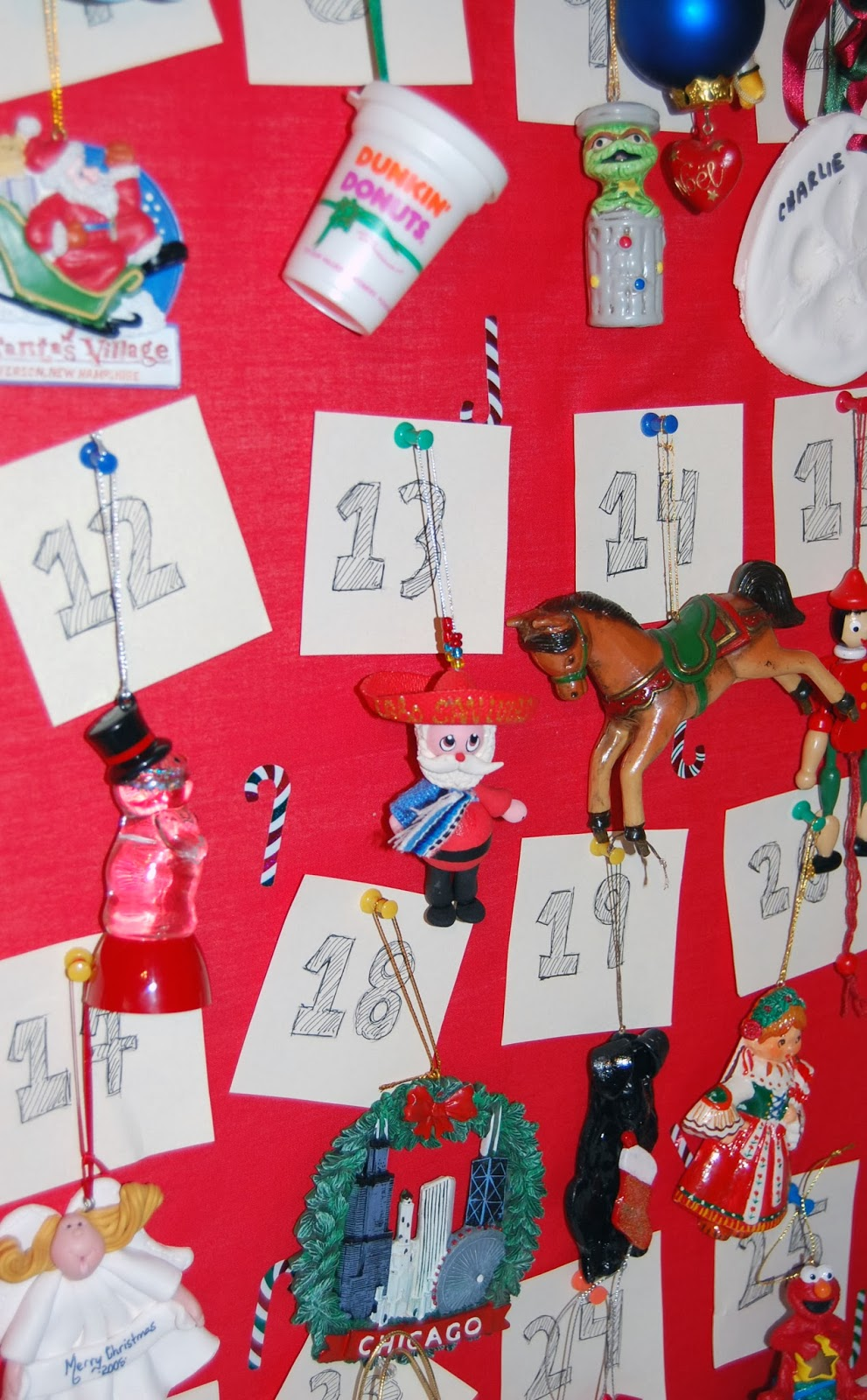 Hooked on pinterest christmas craft diy advent calendar - Pinterest advent ...