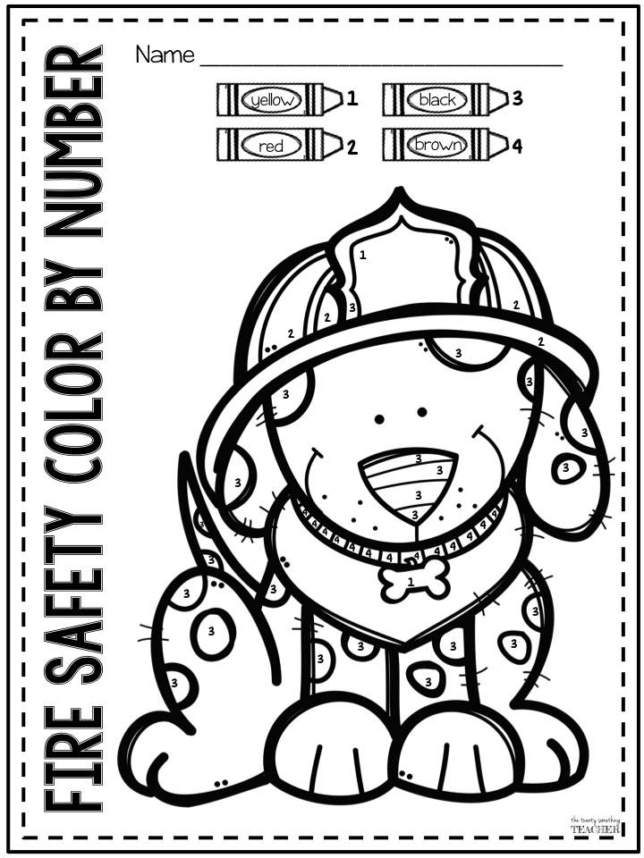 House On Fire Coloring Coloring Pages