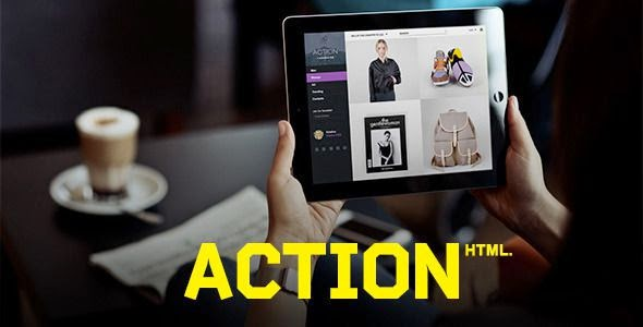 Action Modern eCommerce HTML Template