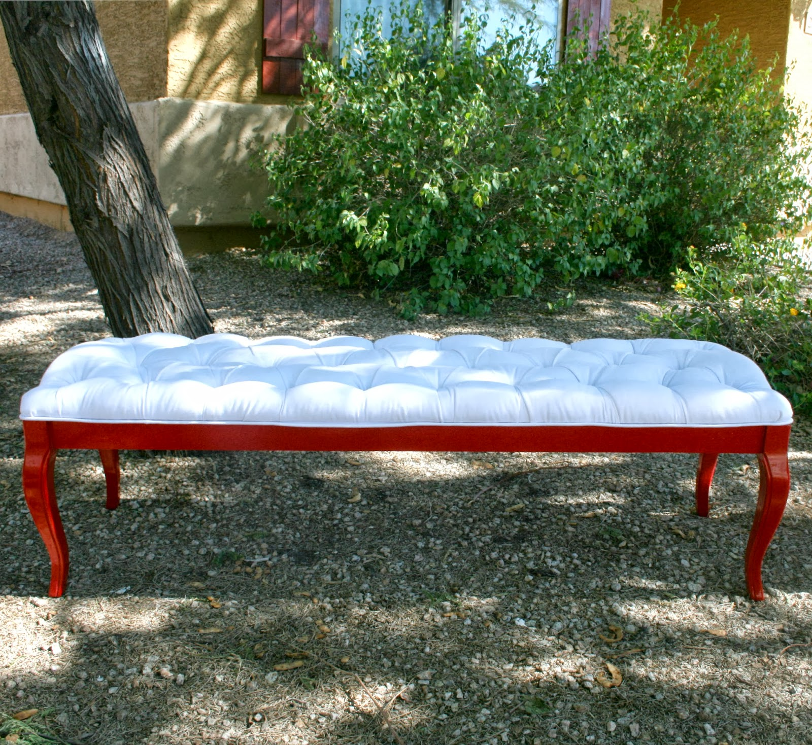 Coffee Table Turned Tufted Bench Pneumatic Addict