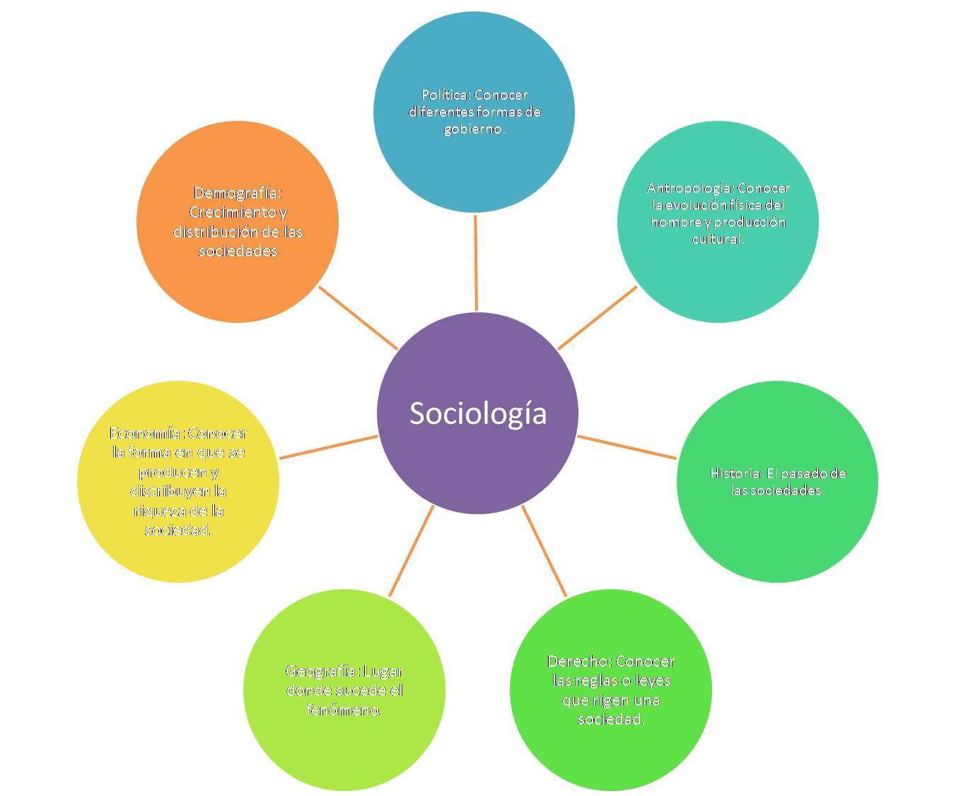 Teoría Sociológica Y Turismo: Sociología Y Sus Ciencias