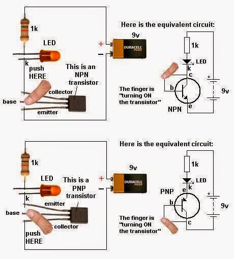 Led Torch Light Circuit