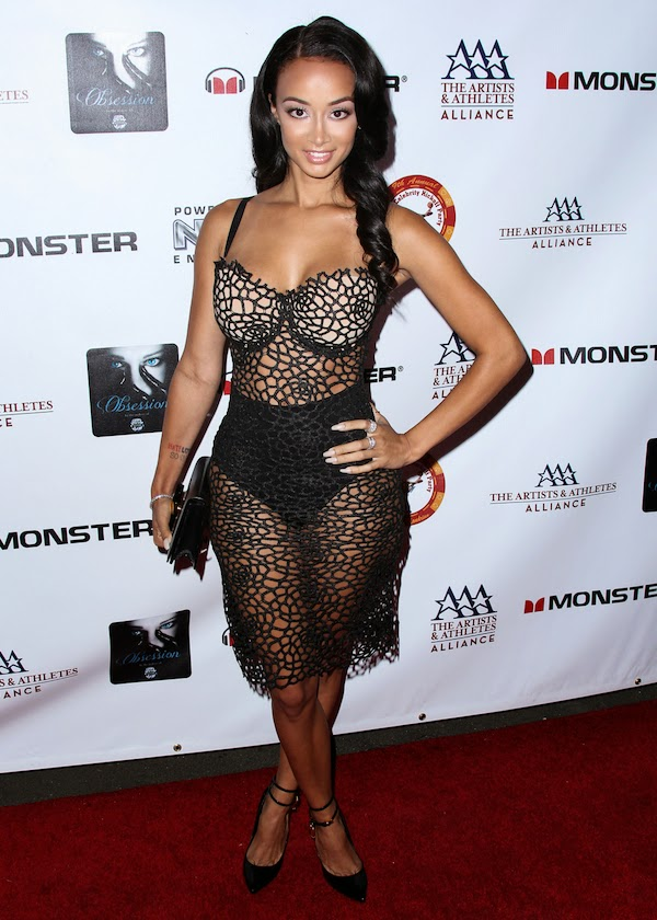 Who wears what n where fab or drab draya michele s - Atelier valencia ...