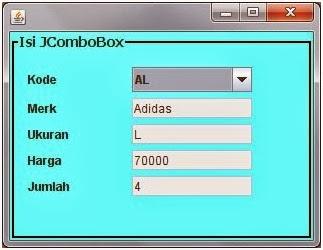 Menampilkan Data Dari Database Ke Combobox di Java
