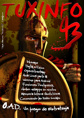 Imagen de la portada de TuxInfo 43