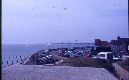Site of Elmore Halt 1986