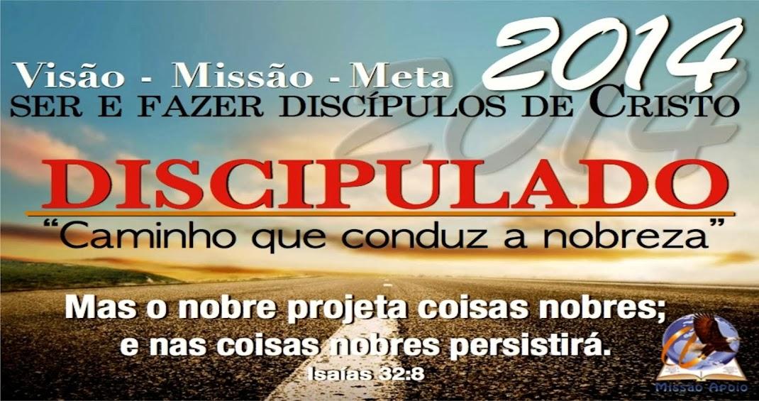 Ano do discipulado