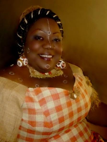 Mariage de Marie-Gisèle  à Donguila dans le département du Komo-Modah...Marie-Gisèle, coutume Fang