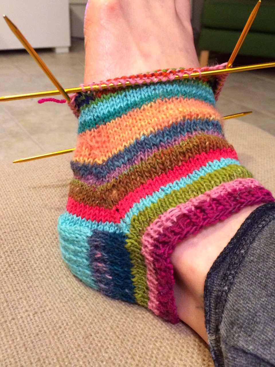 with socks. Ive always been intimidated by the thought of knitting ...