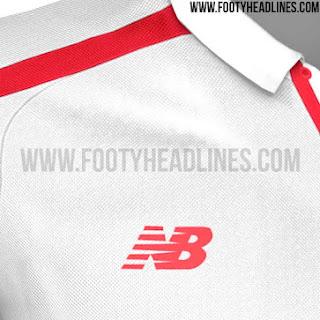 Gambar detail jersey Sevilla home terbaru musim 2015/2016