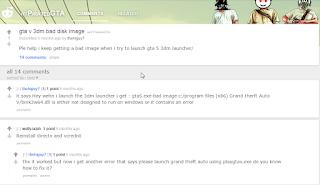"""Cara mengatasi error """"GTA V.exe - Bad Image""""  pada saat play GTA V"""