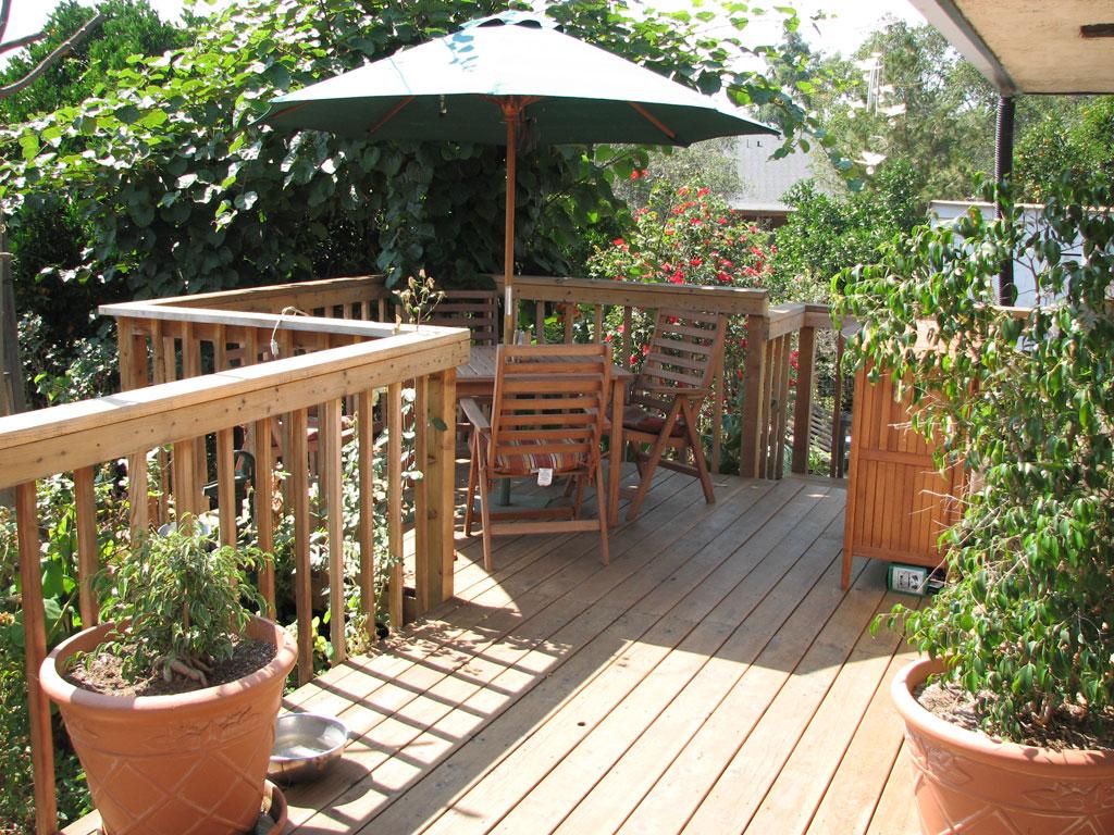 pedras para jardim aki : pedras para jardim aki:Ideia #11 – e, além do deck, o ALPENDRE! Pode lá haver vivenda sem