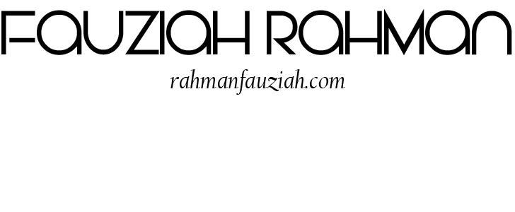 Fauziah Rahman