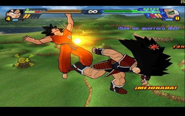 Dragon Ball Z Budokai Tenkaichi 3 pc full español mega