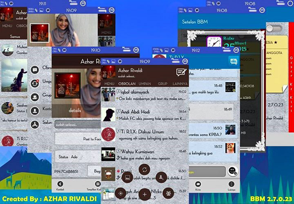 BBM Mod Path Style v2.7.0.23 Android