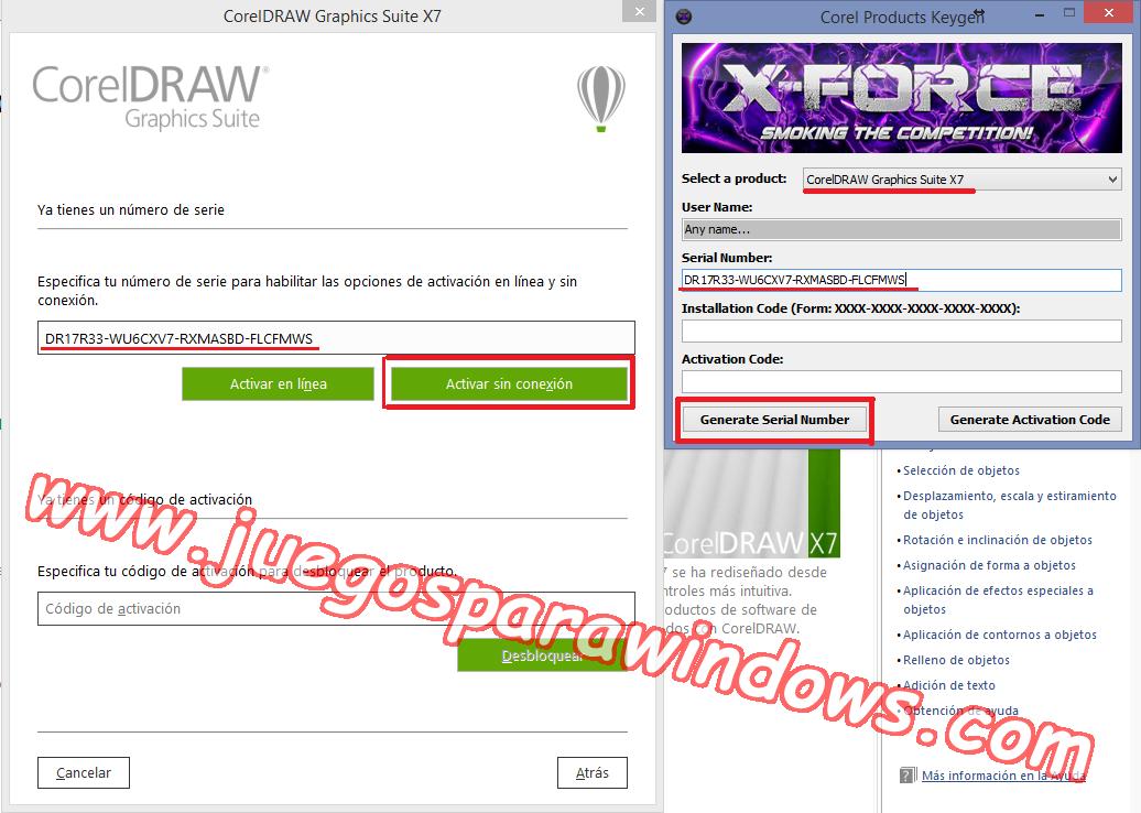 x force keygen coreldraw graphics suite x5