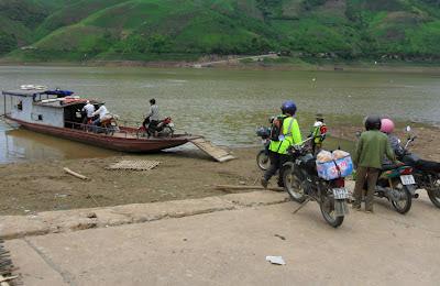 Ian McKercher Photo  Ferry Vietnam June 2012
