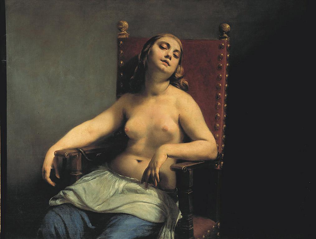 morte di Cleopatra di Guido Cagnacci
