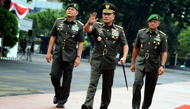 Jokowi Kantongi Nama Calon KSAU dan KSAL