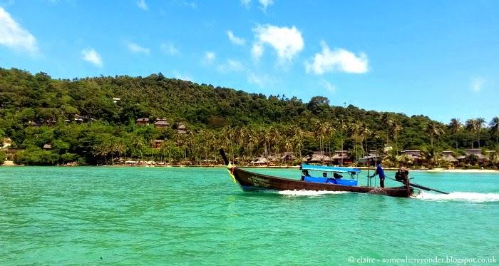 Long tail boat - Ko Phi Phi, Thailand