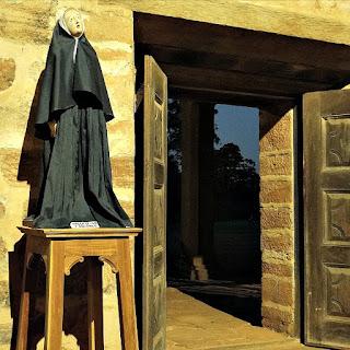 La Virgen de Los Siete Dolores, na igreja da redução de San Cosme y Damián.