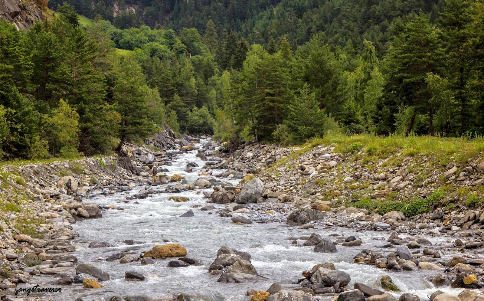 Torrent l'Arc, Vanoise, Savoie