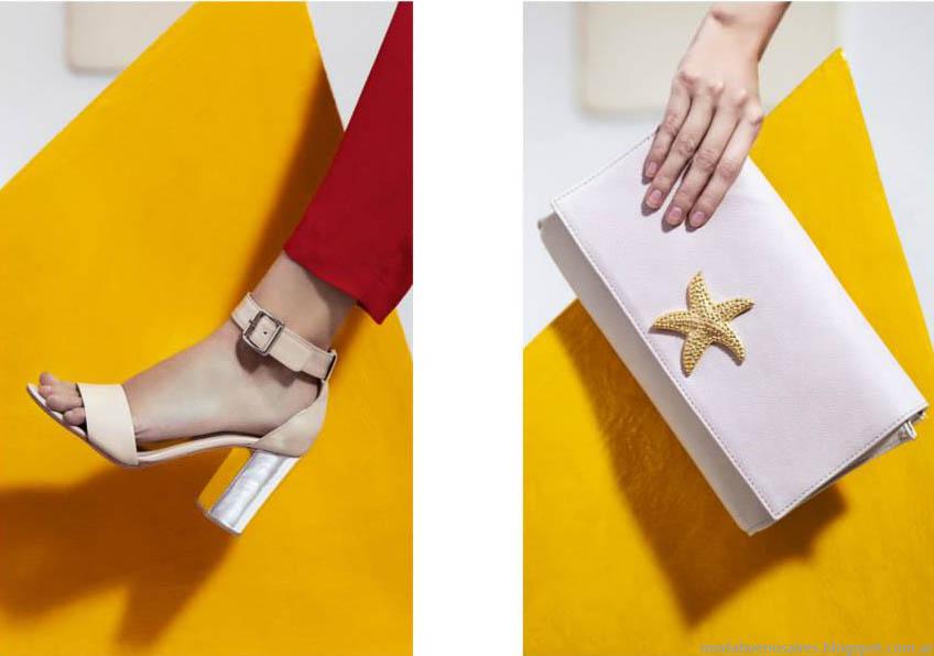 Sandalias y accesorios primavera verano 2015. Clara primavera verano 2015.