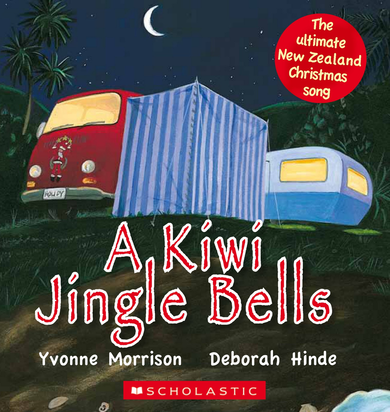 What are the lyrics to the Kiwi Jingle Bells - answers.com