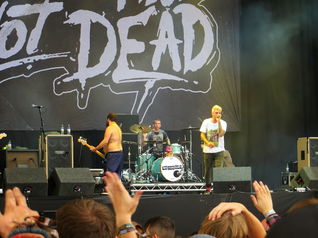 Leeds festival, main stage, yorkshire, new found glory, while she sleeps, greenday, system of a down,