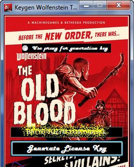 Wolfenstein the old blood (FREE KEYGEN) no survey ...