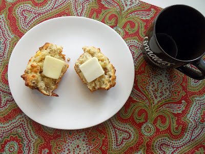 Peach oatmeal muffins | Pies and Puggles