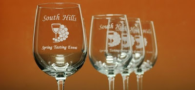 Custom Engraved Wine Glasses - Giveaway