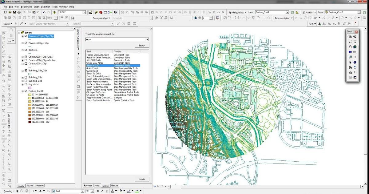 Pursuit of architecture when the rhino terrain trial expires for Gis for landscape architects