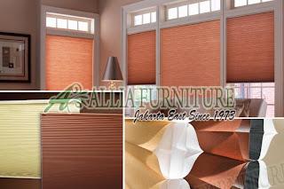 Honey comb model untuk jendela rumah