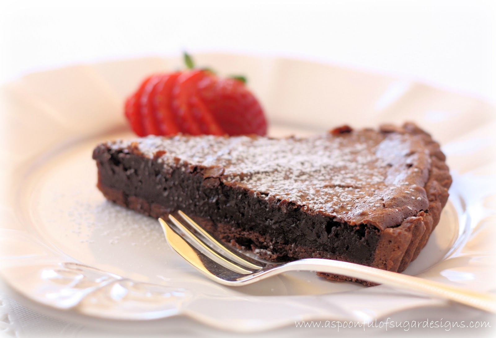 Chocolate Tart - A Spoonful of Sugar
