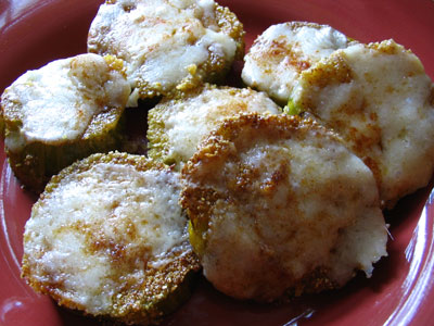 Fried Green Tomatoes and Old Cheddar