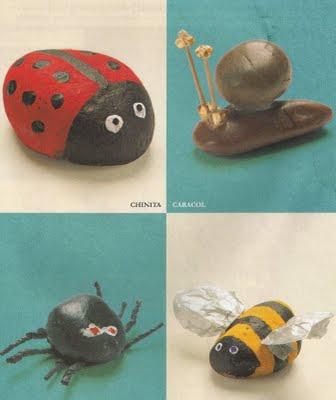 6 manualidades con piedras de playa lodijoella - Manualidades con piedras de playa ...